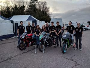 Othrus Racing Team of University of Wales Trinity St Davids uses Skyrich Motorcycle Batteries